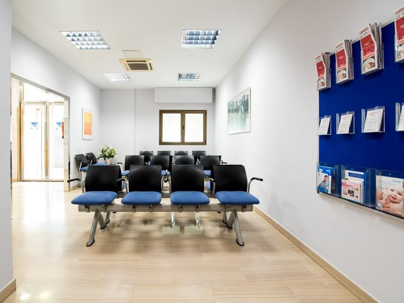 Sala de espera Ginesur Sevilla aborto its